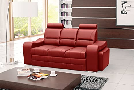 WENUS Sofa Bed * Brand New * Modern Design * RED