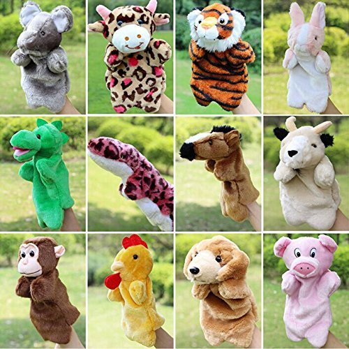 Hand-Puppets-Chinese-Zodiac-Animal-Zoo-12-Pcs-Educational-Toy-for-Kids-by-Lanlan