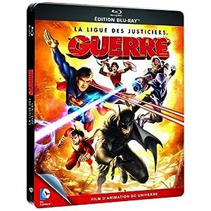 La Ligue des justiciers : Guerre [Blu-ray] (Édition boîtier SteelBook) [B