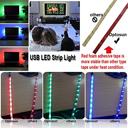 Usb led strip light foxcesd 1 meter 328ft waterproof multi color usb led strip light foxcesd 1 meter 328ft waterproof multi color aloadofball