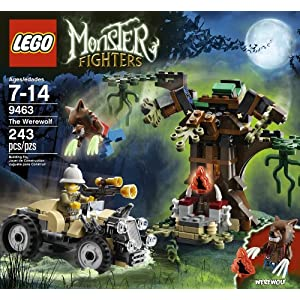 LEGO Monster Fighters 9463 The Werewolf $12.97