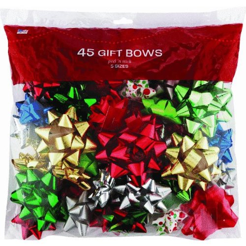 Berwick Offray LLC 14101896-BG45 Tidings Of Joy Gift Bow