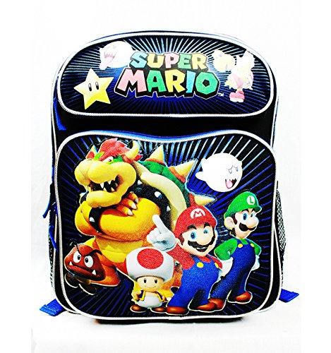 Medio Zaino Nintendo-Super Mario Fratelli e amici New sd26778