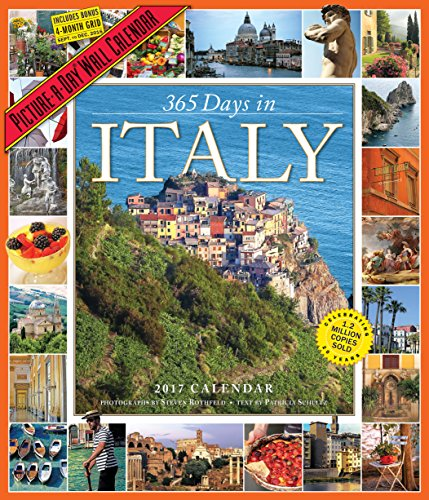 365 Days in Italy Picture-A-Day Wall Calendar 2017 (Italian Days compare prices)