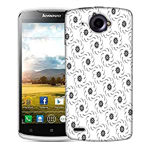 Snoogg Flowing Flower Designer Protective Phone Back Case Cover For Lenovo S920