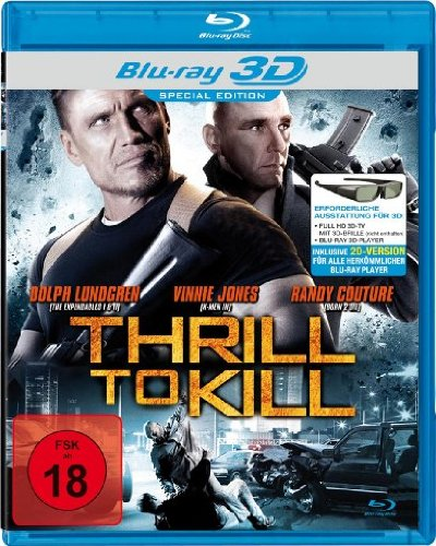 Thrill to Kill [3D Blu-ray] [Special Edition]