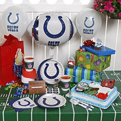 NFL Indianapolis Colts Birthday Party Kit (96-Piece)