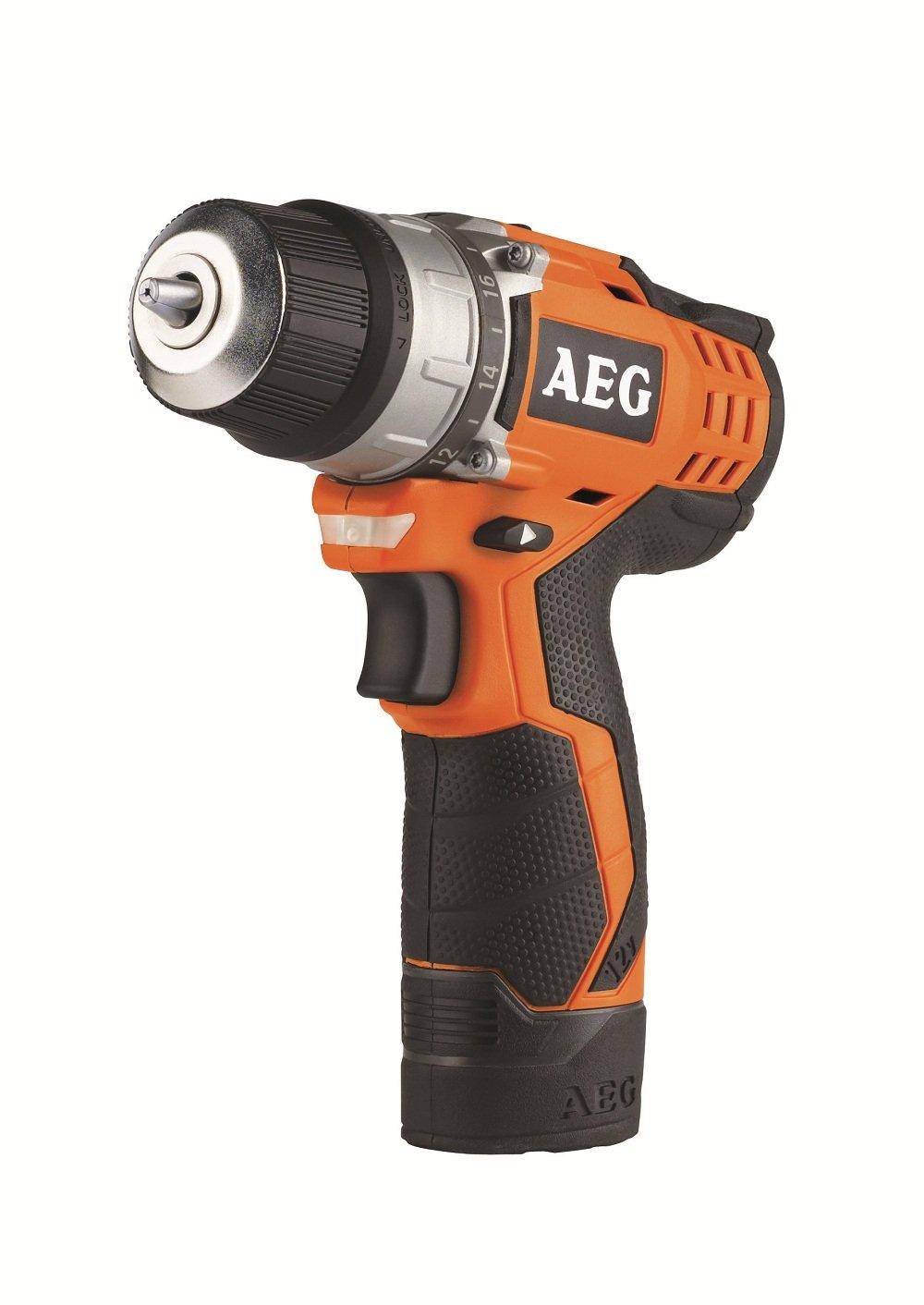 AEG BS 12 C2 (2 x 1.5 Ah PRO LiIon) AkkuKompaktBohrschrauber  BaumarktKritiken und weitere Infos