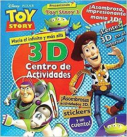 DISNEY TOY STORY 3 - 3D CENTRO DE ACTIVIDADES (Spanish