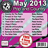 All Star Karaoke May 2013 Pop and Country Hits B (ASK-1305B)