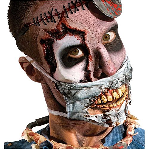 Zombie Doctor Surgical Mask with Teeth