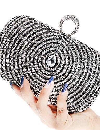 Da Wu Jia Ladies borsetta di alta qualità delle donne di lusso elegante di alta qualità le goccioline di acqua diamanti Borsa serale , oro