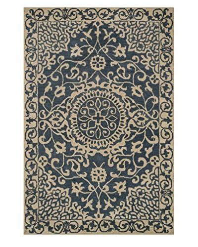 Loloi Rugs Fairfield Hand-Made Rug  [Blue/Ivory]