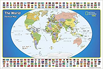 The World for Kids [Boxed] (National Geographic Reference Map)