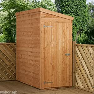 6ft x 3ft shiplap pent wooden storage shed brand new 6x3 for Garden shed 6x3