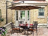 Turino Wall Parasol X 5 Offer - Granite