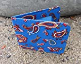 Blue Paisley Travel Card / Oyster Card Holder