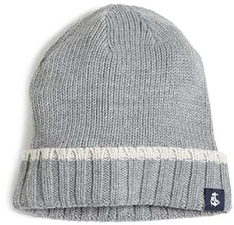 Nautica Men's Tipped Cuff Hat, Gray Multi, One Size