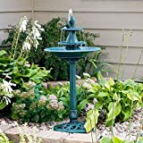 Alpine Corporation Fountain with Fish TEC104