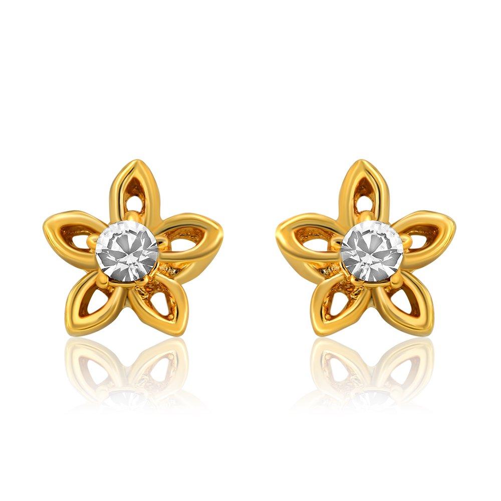 Gold Jewellery Designs Earrings Tops