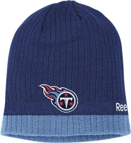 Tennessee Titans Reebok 2010 Sideline Cuffless Knit Hat tiny titans vol 01