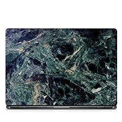 Inktree Vinyl Marble Matte Finish Adhesive Laptop Skin (15 inch x 10 inch, Mulicolor)