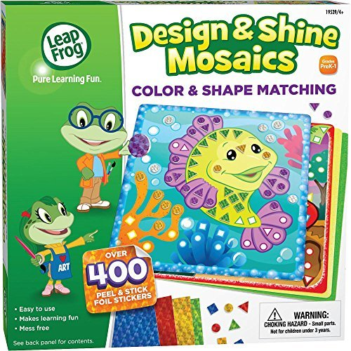 LeapFrog Animal Sticker - Design and Shine Mosaic Set - 1