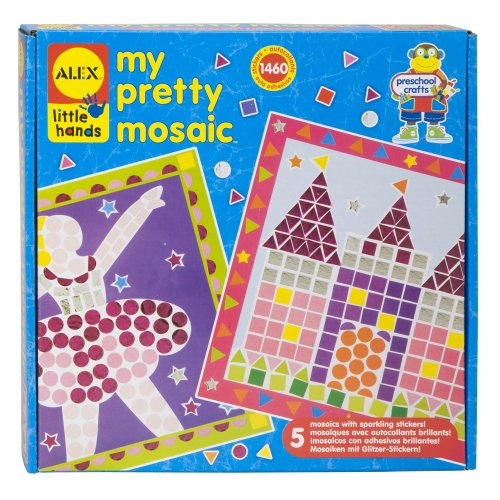 ALEX Toys Little Hands My Pretty Mosaic - 1