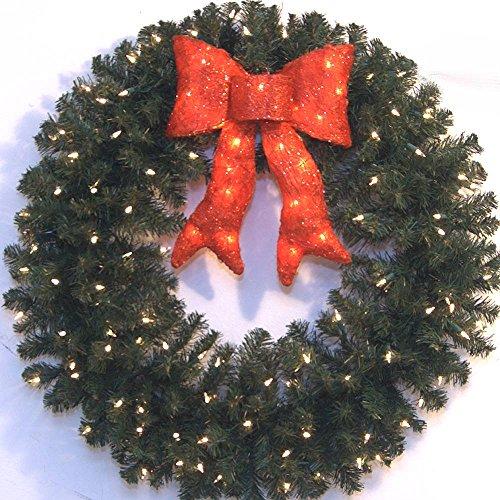 3-Foot-LED-Prelit-Christmas-Wreath