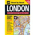 Street Atlas London Maxi (Spiral) (AA Street by Street)