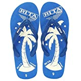 Bareskin Casual Blue Flip Flops