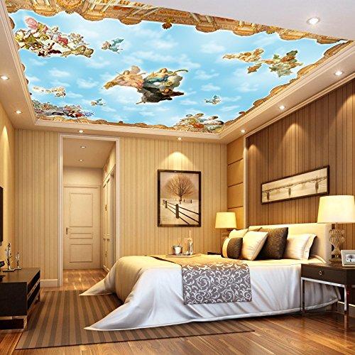 gsly-stile-europeo-3d-antibatterico-soffitto-di-cielo-blu-e-nuvole-bianche-umiditseur-macchia-wallpa