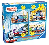 Ravensburger Thomas and Friends 4-in-a Box Jigsaw Puzzle