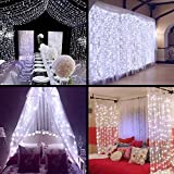 Description: This linkable design led decoration curtain light is composed of the controller and main curtain light two parts. Ideal for Christmas, party, wedding, ceremony, and other celebration occasions.  Features: 1.The main curtain light...