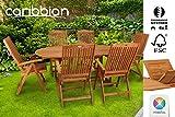 Sitzgruppe-Belmont-Gartenset-Sitzgarnitur-6-Personen-Holz-Gartenmbel-Gartengarnitur-Tisch
