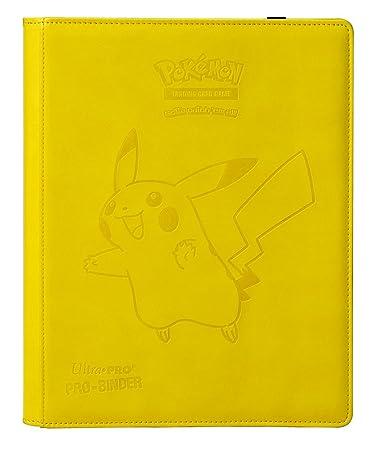 Pokemon 84570–Pikachu Premium Pro Binder
