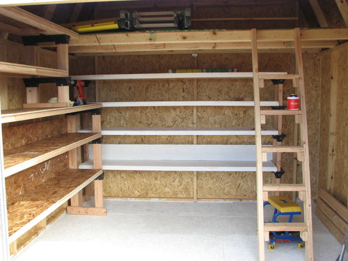Garage Storage Shelves Plans