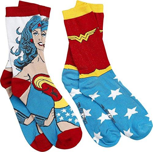 Wonder Woman - Calzini, confezione da 2 paia