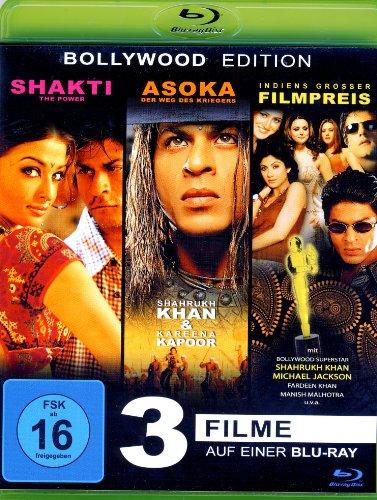 Shakti The Power - Bollywood Award Show - Asoka mit Shakrukh Khan (3Filme) (Blu-ray)