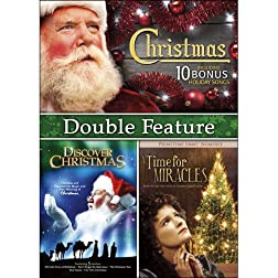 Christmas Double Feature: A Time for Miracles / Discover Christmas / Bonus Angels We Have Heard on High MP3 s