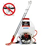 6.6 Gallon Gas Power Backpack Pesticide/Fertilizer Sprayer for Mosquitoes and Ticks