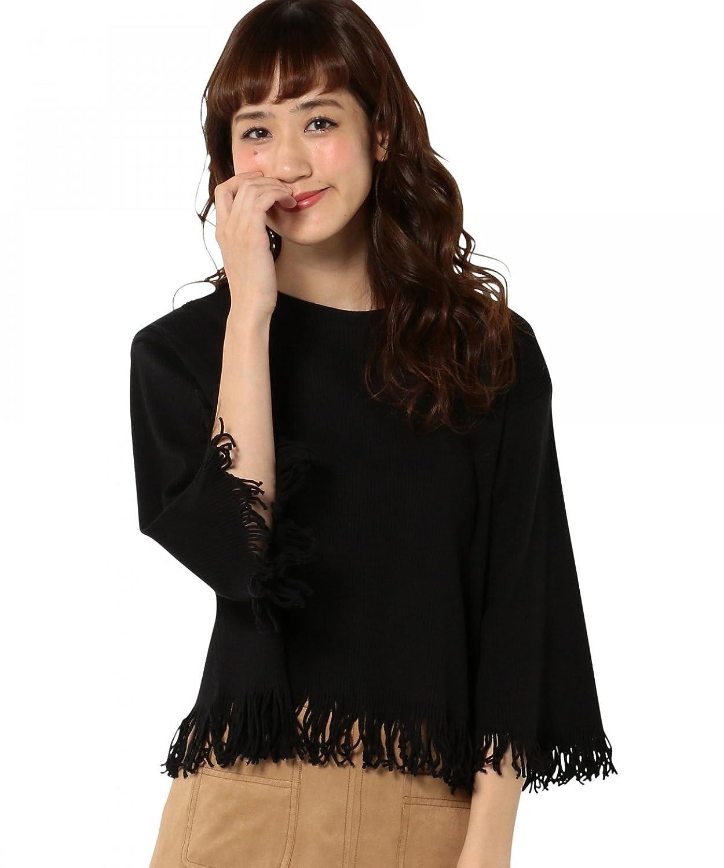 Amazon.co.jp: (アナザーエディション) Another Edition AEBC リブタチキリ T 56121991872 09 Black フリー: 服&ファッション小物