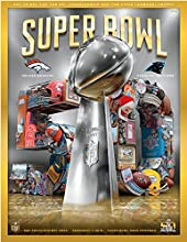 2016 Super Bowl 50 Game Program - Stadium Version - Holographic Cover - Limited Edition