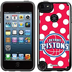 Coveroo CandyShell Card Cell Phone Case for iPhone 5/5S - Detroit Pistons Polka Dots