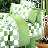 Blancho Bedding - [Country Life] 100% Cotton 4PC Duvet Cover Set (King Size)