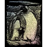 Royal and Langnickel Holographic Engraving Art, Emperor Penguins