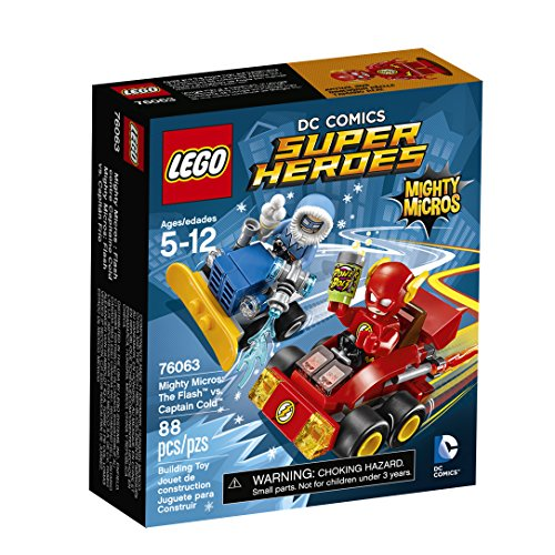 LEGO Super Heroes Mighty Micros: The Flash vs. Captain Co 76063 (Lcs 2 compare prices)
