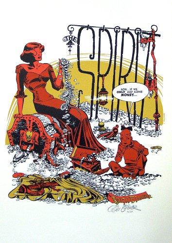 The Spirit splash page by Will Eisner, Will Eisner: A Spirited Life