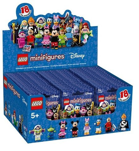 LEGO-71012-The-Disney-Series-Minifigures-Factory-Sealed-Case-of-60-Minifigures