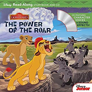 Book Cover: The Lion Guard Read-Along Storybook and CD The Power of the Roar